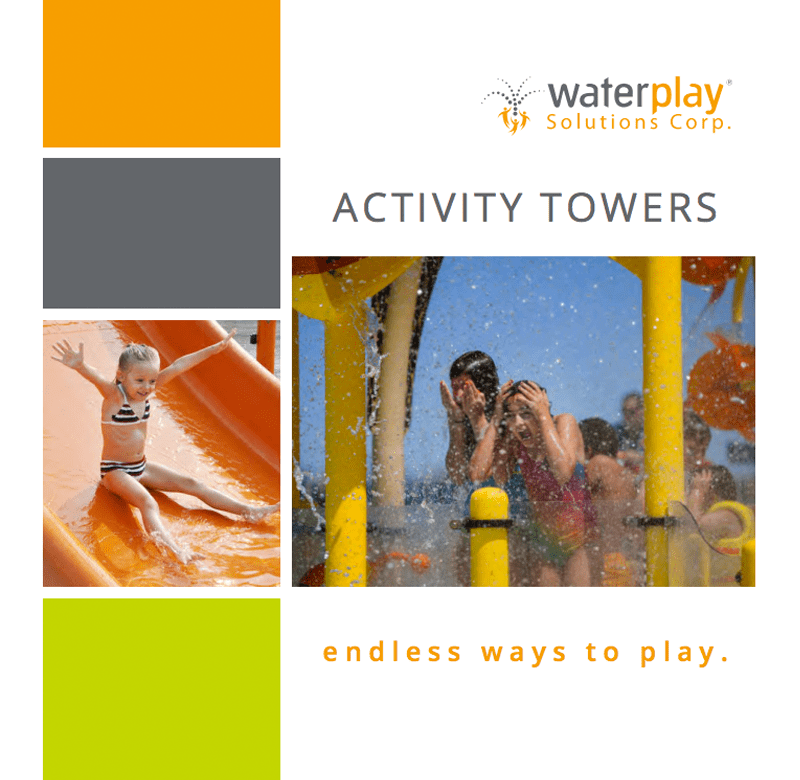 Land Rec Waterplay Activity Towers Catalog